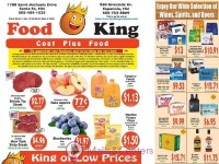 Food King Cost Plus Food (Special Offer - NM) Flyer