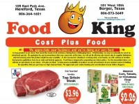 Food King Cost Plus Food (Special Offer - TX) Flyer