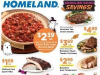 Food Pyramid (Ghoulish good savings) Flyer