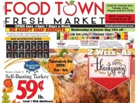 Food Town Fresh Market (Happy Thanksgiving) Flyer