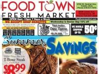 Food Town Fresh Market (Summer Savings) Flyer