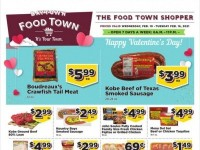 Food Town (Happy Valentine's Day) Flyer