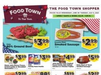 Food Town (Weekly Specials) Flyer