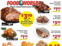 Food World (Weekly Specials) Flyer