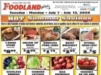 Foodland Grocery (hot summer savings) Flyer
