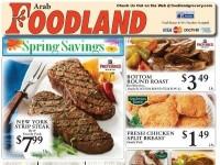 Foodland Grocery (spring savings) Flyer