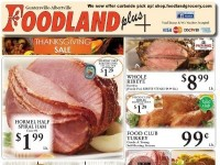 Foodland Grocery (Thanksgiving Sale) Flyer