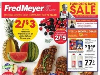 Fred Meyer (Founder's Day sale) Flyer