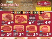 Fresh County Market (save more) Flyer