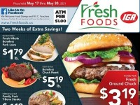 Fresh Foods IGA (Two week of extra savings) Flyer