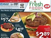 Fresh Foods IGA (Two Weeks Of Extra Savings) Flyer