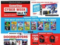 GameStop (2020 Cyber Week) Flyer