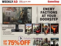 GameStop (Enemy Factions At Your Doorstep) Flyer