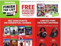 GameStop (Finish The List Sale) Flyer