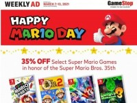 GameStop (Happy Mario Day) Flyer