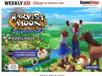 GameStop (Harvest Moon) Flyer