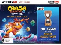 GameStop (Pre Order And Get Minute Glass Timer) Flyer