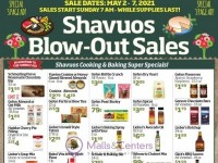 Gourmet Glatt Market (Shavuos Blow Out Sales) Flyer