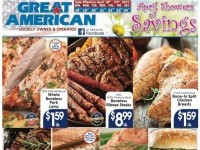 Great American Food Stores (April Showers of Savings) Flyer