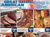 Great American Food Stores (Savings In Bloom) Flyer