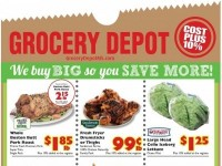 Grocery Depot (Save More) Flyer