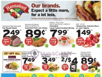 Hannaford Supermarket & Pharmacy (Except a Little More, For a Lot Less) Flyer