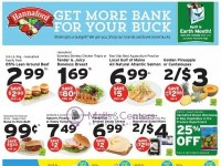 Hannaford Supermarket & Pharmacy (Get More Bank For Your Buck) Flyer