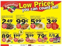 Hannaford Supermarket & Pharmacy (Low Prices) Flyer