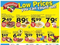 Hannaford Supermarket & Pharmacy (Low Prices You Can Count On) Flyer