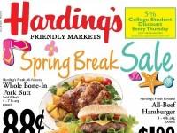 Harding's (Spring Break Sale) Flyer