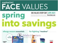 Harmon Face Values (Monthly Savings) Flyer
