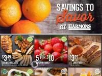 Harmons (Savings to savor) Flyer