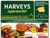 Harveys Supermarket (Weekly Specials) Flyer