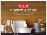 HEB (Kitchen & Table) Flyer