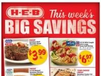HEB (This week's big savings) Flyer