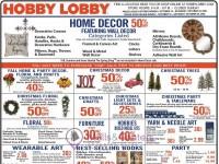 Hobby Lobby (Featuring Wall Decor) Flyer