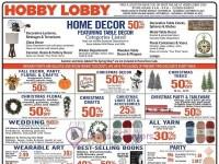 Hobby Lobby (Hot Deals) Flyer