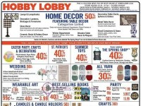 Hobby Lobby (Hot Offers) Flyer