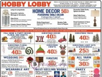 Hobby Lobby (Hot Offers) Flyer