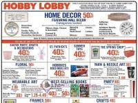 Hobby Lobby (Special Offer) Flyer