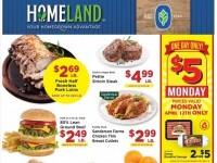 Homeland (Weekly Specials) Flyer