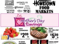 HomeTown Food Markets (Mother's Day Savings) Flyer
