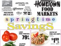 HomeTown Food Markets (Spring time savings) Flyer