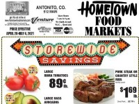 HomeTown Food Markets (Weekly Specials) Flyer