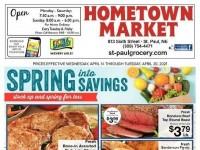 Hometown Market (Spring into Savings - NE) Flyer