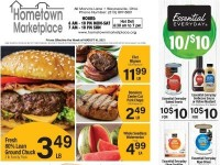 Hometown Marketplace (Weekly Specials) Flyer