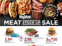 HyVee (3-DAY MEAT STOCK UP SALE) Flyer