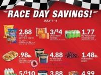 HyVee (4-DAY RACE SAVINGS! AD) Flyer