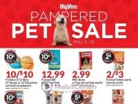 HyVee (PAMPERED PET SALE) Flyer