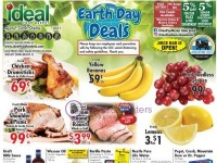 Ideal Food Basket (Earth Day Deals) Flyer